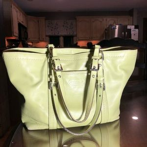 COACH East west tote